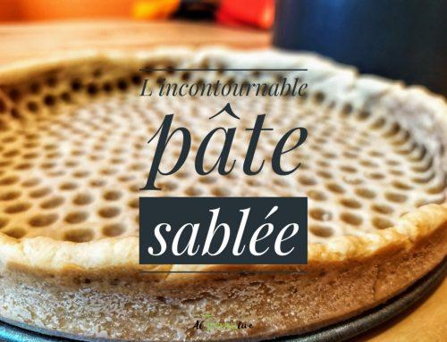 L'incontournable pâte à tarte sablée version légère et délicieuse pour vos desserts