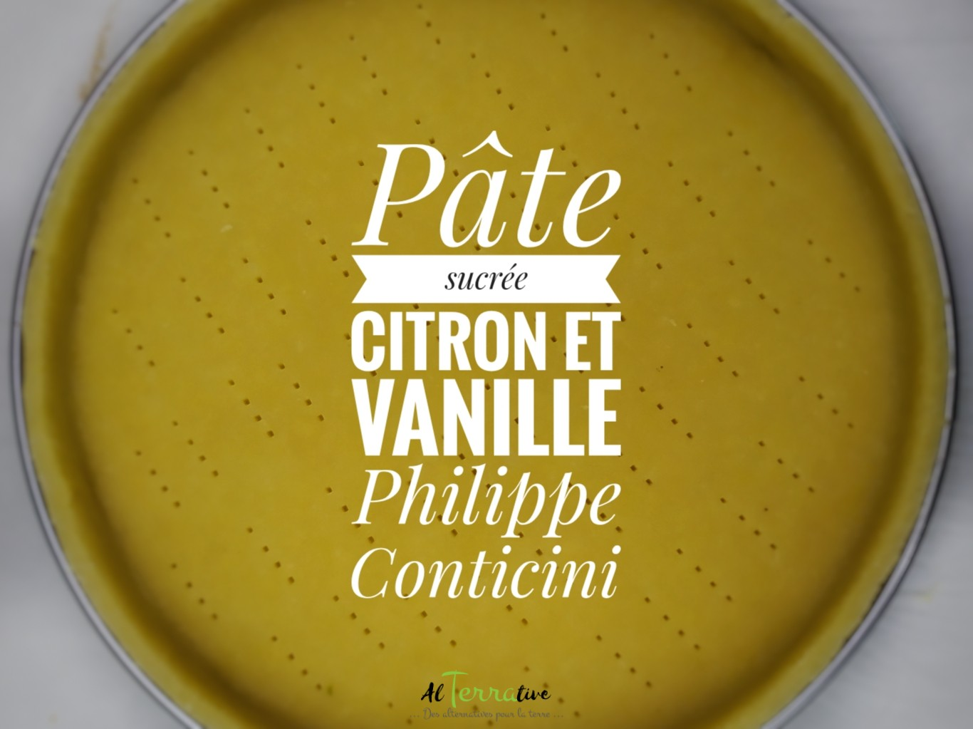 pate sucree citron vanille philippe conticini
